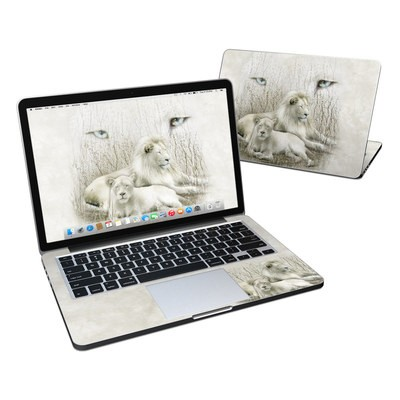 MacBook Pro Retina 13in Skin - White Lion