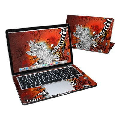 MacBook Pro Retina 13in Skin - Wild Lilly