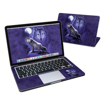 MacBook Pro Retina 13in Skin - Wolf