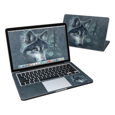 MacBook Pro Retina 13in Skin - Wolf Reflection