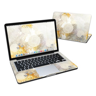 MacBook Pro Retina 13in Skin - White Velvet