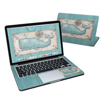 MacBook Pro Retina 13in Skin - Whale Watch