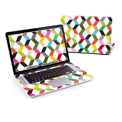 MacBook Pro Retina 13in Skin - Ziggy Cube