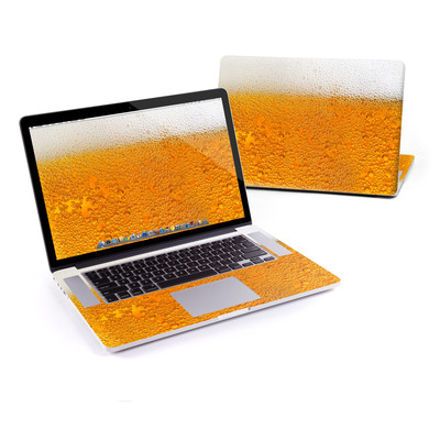 MacBook Pro Retina 15in Skin - Beer Bubbles