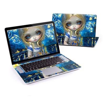 MacBook Pro Retina 15in Skin - Alice in a Van Gogh