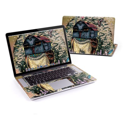 MacBook Pro Retina 15in Skin - Barn Owl Fortune
