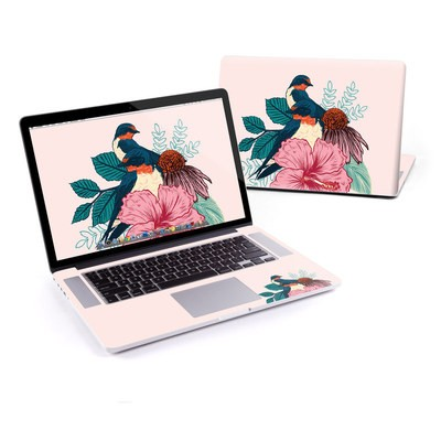 MacBook Pro Retina 15in Skin - Barn Swallows