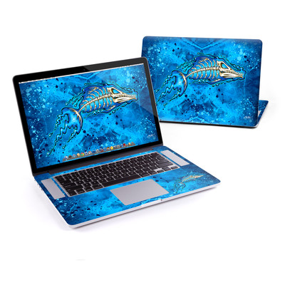 MacBook Pro Retina 15in Skin - Barracuda Bones