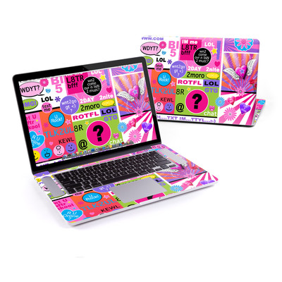 MacBook Pro Retina 15in Skin - BFF Girl Talk
