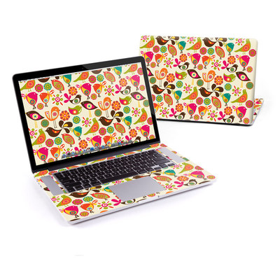 MacBook Pro Retina 15in Skin - Bird Flowers