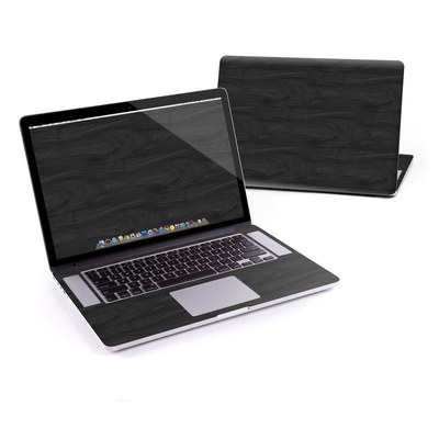 MacBook Pro Retina 15in Skin - Black Woodgrain