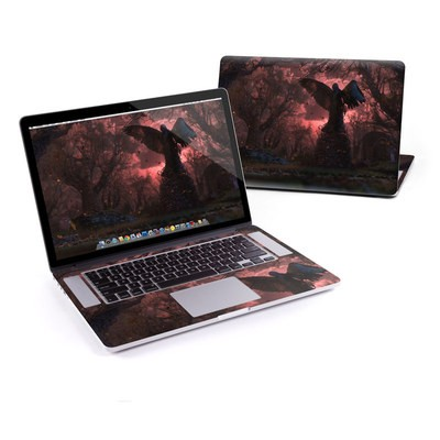 MacBook Pro Retina 15in Skin - Black Angel