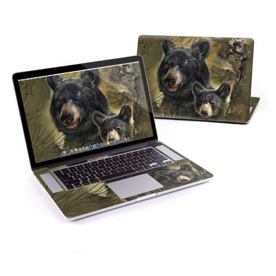MacBook Pro Retina 15in Skin - Black Bears