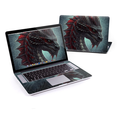MacBook Pro Retina 15in Skin - Black Dragon