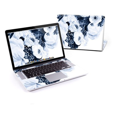 MacBook Pro Retina 15in Skin - Blue Blooms