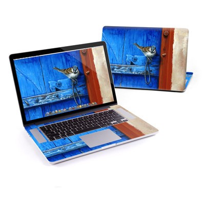 MacBook Pro Retina 15in Skin - Blue Door