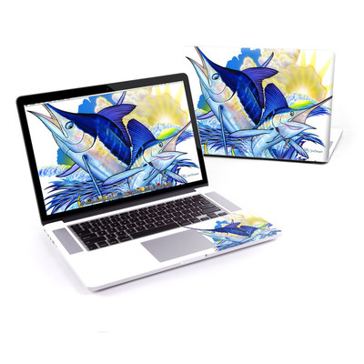 MacBook Pro Retina 15in Skin - Blue White and Yellow