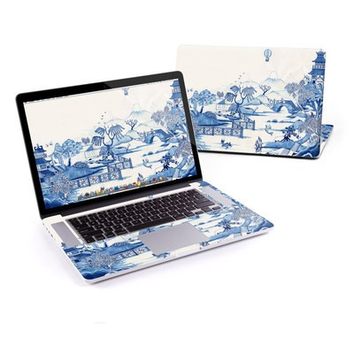 MacBook Pro Retina 15in Skin - Blue Willow