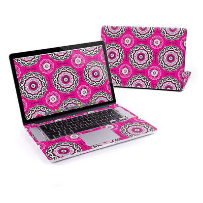 MacBook Pro Retina 15in Skin - Boho Girl Medallions