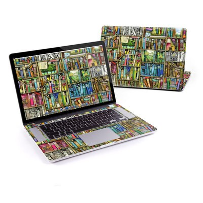 MacBook Pro Retina 15in Skin - Bookshelf