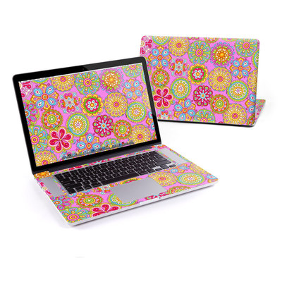 MacBook Pro Retina 15in Skin - Bright Flowers