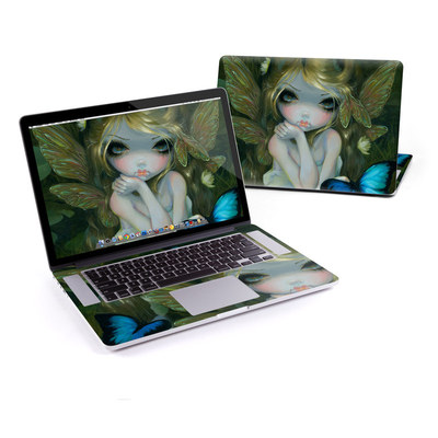 MacBook Pro Retina 15in Skin - Butterfly Lily