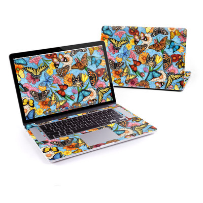 MacBook Pro Retina 15in Skin - Butterfly Land
