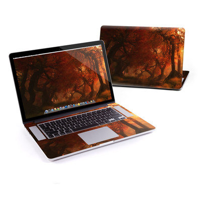 MacBook Pro Retina 15in Skin - Canopy Creek Autumn