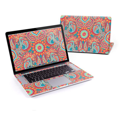 MacBook Pro Retina 15in Skin - Carnival Paisley