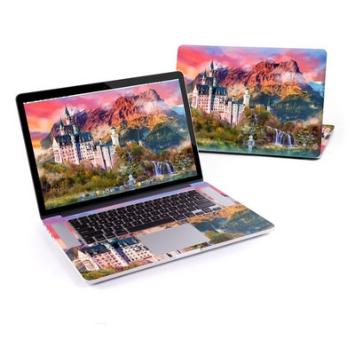 MacBook Pro Retina 15in Skin - Castle Majesty
