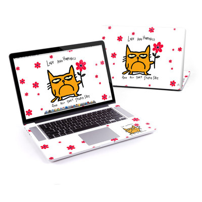 MacBook Pro Retina 15in Skin - Catwad Happy