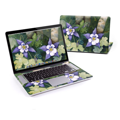 MacBook Pro Retina 15in Skin - Colorado Columbines