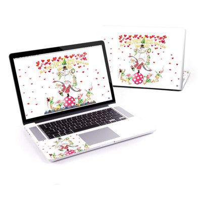 MacBook Pro Retina 15in Skin - Christmas Circus