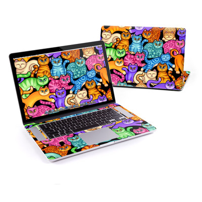 MacBook Pro Retina 15in Skin - Colorful Kittens