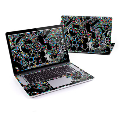 MacBook Pro Retina 15in Skin - Circle Madness
