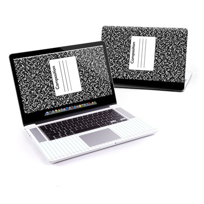 MacBook Pro Retina 15in Skin - Composition Notebook