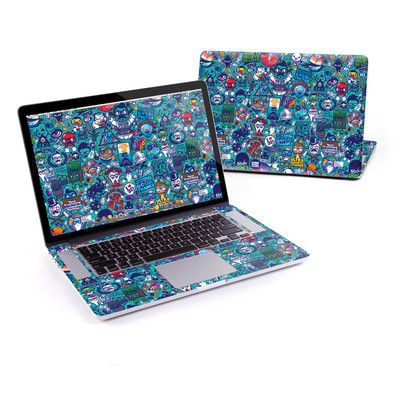 MacBook Pro Retina 15in Skin - Cosmic Ray