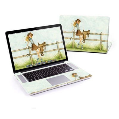 MacBook Pro Retina 15in Skin - Cowgirl Glam