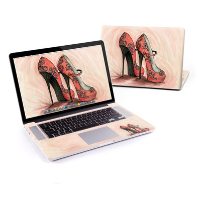 MacBook Pro Retina 15in Skin - Coral Shoes
