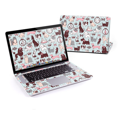MacBook Pro Retina 15in Skin - Doggy Boudoir