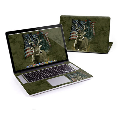 MacBook Pro Retina 15in Skin - Deer Flag