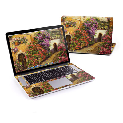 MacBook Pro Retina 15in Skin - Via Del Fiori