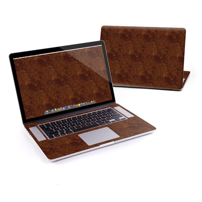 MacBook Pro Retina 15in Skin - Dark Burlwood