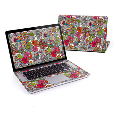 MacBook Pro Retina 15in Skin - Doodles Color