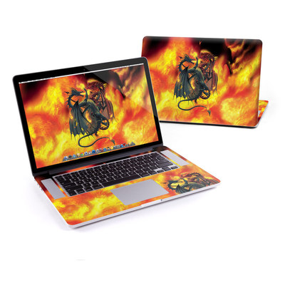 MacBook Pro Retina 15in Skin - Dragon Wars