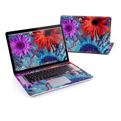 MacBook Pro Retina 15in Skin - Deep Water Daisy Dance