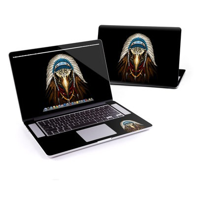 MacBook Pro Retina 15in Skin - Eagle Skull