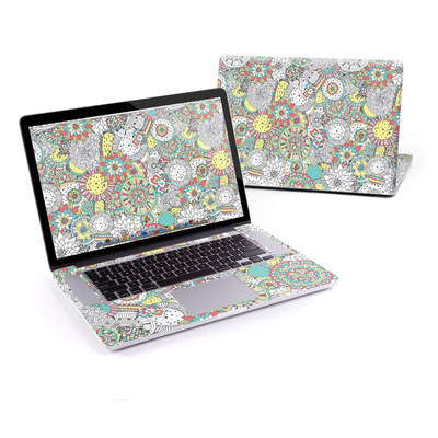 MacBook Pro Retina 15in Skin - Faded Floral