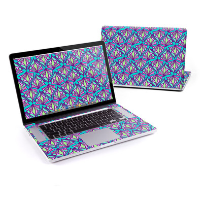 MacBook Pro Retina 15in Skin - Fly Away Teal