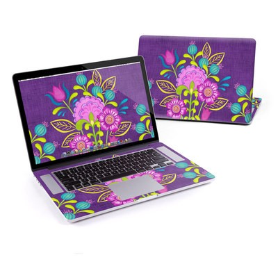 MacBook Pro Retina 15in Skin - Floral Bouquet